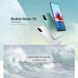 Celular Xiaomi Redmi Note 10 128GB, Melhor preço! Loja! Nota Fiscal! Op12x!