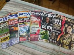 Lote de revistas PS World