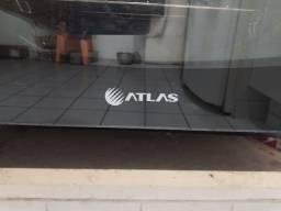 Fogão 4 bocas de Embutir Atlas Top Gourmet Glass