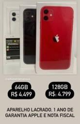 Apple iPhone 11 lacrado 64GB e 128GB A PRONTA ENTREGA