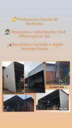 Título do anúncio: Estruturas Metálicas,  Barracões,  mezanino Metálico,  telhado garagem.