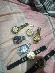 7 relógios por $ 50