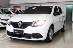 Título do anúncio: Renault Logan Authentic 1.0 2019