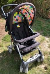Título do anúncio: Carrinho e bebê conforto
