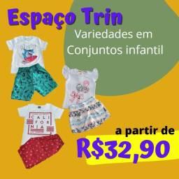 Título do anúncio: Moda infantil com preços imperdíveis