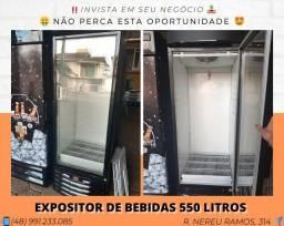 Expositor de Bebidas 550 LTS (Atinge até 0°) - Metal Frio | Matheus