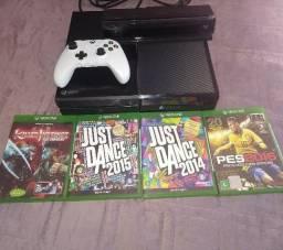 Xbox One 500GB com Kinect e 4 jogos