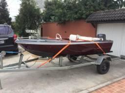 Conjunto barco/motor/carreta - 2000