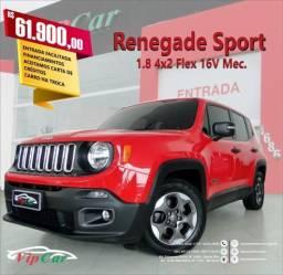 JEEP RENEGADE 2015/2016 1.8 16V FLEX SPORT 4P AUTOMÁTICO - 2016