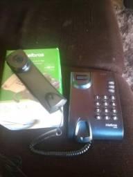 Telefone Intelbras com fio Novo