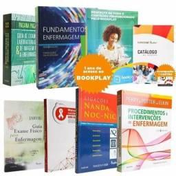 Estou vendendo esses livros de enfermagem novos
