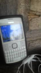 Nokia x2 dual chip teclado antena rual redes social completo