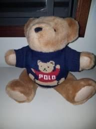 Urso de pelúcia da Polo Ralph Lauren original