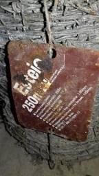 Arame farpado e fio em Aço Galvanizados