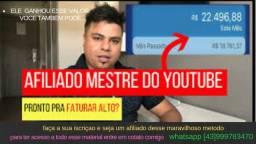 Afiliado Mestre do Youtube