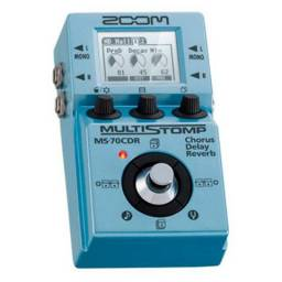 Pedal Zoom MS 70 CDR - Chorus Delay Reverb