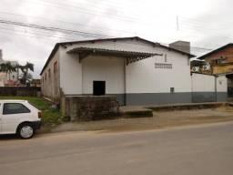 Galpão/depósito/armazém para alugar em Boa vista, Biguaçu cod:647