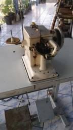 Máquina de costura peleteira ou chuliadeira