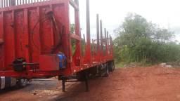 Carreta bitrem florestal guerra excelente para fazer 3x3 valor 55.000 sem pneu - 2006