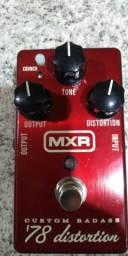 Pedal MXR Custom Badass 78 distorcion