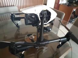 Drone inspire v1-2 com câmera x5 top mais lente zoom