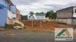 Terreno em rua - Bairro Jardim Carvalho em Ponta Grossa