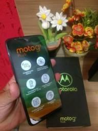 Moto g7 plus 64gb novo na caixa