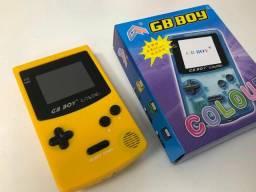 GB Boy novo com jogos na memória.