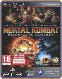 Título do anúncio: Ps3 Mortal Kombat komplete Edition