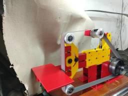 Lixadeira para cutelaria de cinta