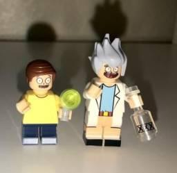 Lego Rick e Morty (Rick and Morty) - kit com os 2 personagens por R$20