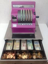 Antiguidade / Máquina Registradora Nathional / Decoração Vintage