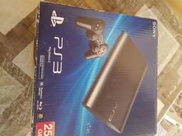 Vendo ou troco Playstation 3 Slim 500 GB novo