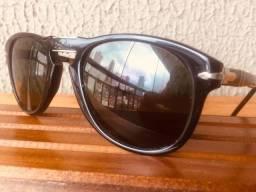 "Óculos ""Persol"" Italiano, unisex ,dobrável, original- semi novo"
