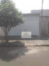 Casa com 2 dormitórios para alugar, 45 m² por R$ 900,00/mês - Ipiranga - Ribeirão Preto/SP