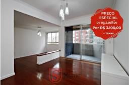 Apartamento 4 quartos e vaga dupla para aluguel no Centro em Curitiba