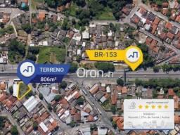 Terreno à venda, 806 m² por R$ 1.050.000,00 - Setor Leste Universitário - Goiânia/GO