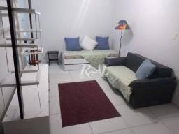 Apartamento com 2 dormitórios para alugar, 92 m² por R$ 2.700,00 - Gonzaga - Santos/SP