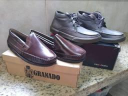 Coleção 2 sapatos masculinos - Democrata & Granado