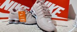 Tenis Nike Shox feminino Rosê