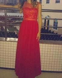 Vestido vermelho para festa