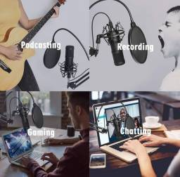 Microfone BM- 800 profissional para estúdio