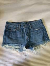 Short jeans da marca Levi?s