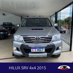 Toyota Hilux SRV 4x4 2015 Aceito trocas e financio
