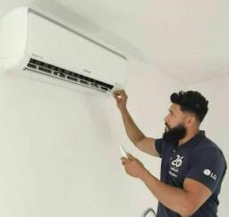 Instalador de ar condicionado com Garantia