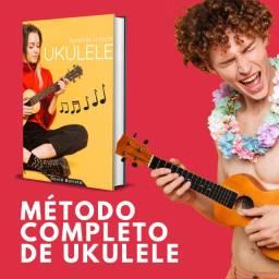 Método único no Brasil para ukulele (leia a descrição)
