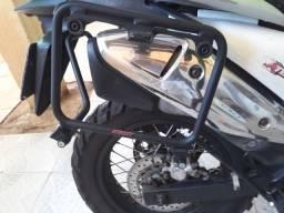 Suporte para baús moto Transalp
