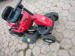 Tratorzinho cortador de grama vendo ou troco por moto !