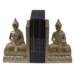 Aparador de Livros Buda dourado