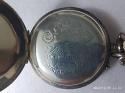 Relógio De Bolso Roskopf Patent Ferroviário Funciona